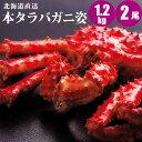 【母の日ギフト】 本タラバガニ姿 1.2kg×2尾 タラバガ...