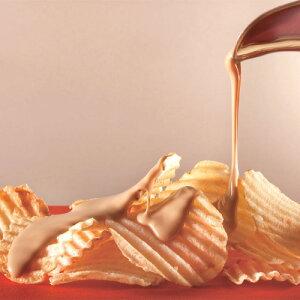 ポテトチップ チョコレート キャラメル バレンタイン プチギフト プレゼント スイーツ