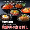 10000円以上購入3/29 01:59まで1000円OFFcoupon!【選べる 海鮮丼 お試しセット】(マ