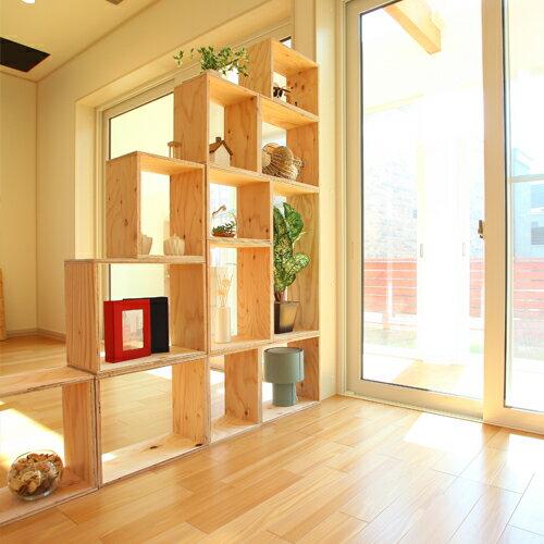 【送料無料(但し離島を除く)】 おしゃれな WOOD BOX・多機能収納ボックス・木材・ウッド・木箱・木製 - ダイニングセット - 計12個