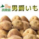 [2019年秋収穫 男爵いも 3kg] 北海道真狩産じゃがいも「男爵いも」3kg ジャガイモ