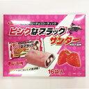 【数量限定販売】【北海道限定】ピンクなブラックサンダー プレミアムいちご味 16袋入り【送料格安】