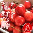 北海道余市産 さくらんぼ【紅秀峰】2L 500g 秀品 手詰...