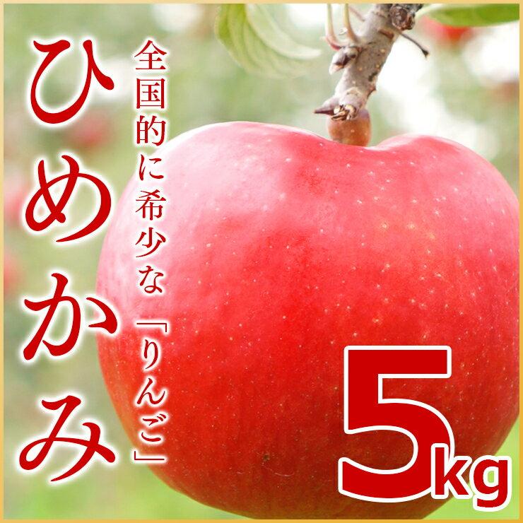(送料無料)北海道余市産直りんご【ひめかみ】5kg 有機質肥料使用 産地直送 北海道産 余市産 リンゴ 林檎 葉とらずリンゴ ギフト 贈答品