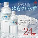 北海道大雪山 「ゆきのみず」 550ml ペットボトル 24本(1ケース)※1ケース1個のみの販売となります。 北海道産 国内産 天然水 ミネラルウォーター 名水 アルカリ水 安全