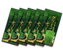 Uji powdered green tea, 150 g of *5 bag of green tea family pack
