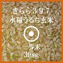 きらら397 玄米 30Kg 送料無料 北海道産 28年産 一等米 北海道米