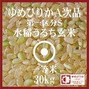 ゆめぴりか 玄米 30Kg 北海道産 29年産 第一区分S 一等米 A次品 北海道米 食味ランキング 特A受賞
