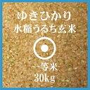 ゆきひかり 玄米 30Kg 北海道産 一等米 北海道米 30年産