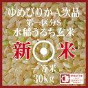 新米 ゆめぴりか 玄米 30Kg 北海道産 30年産 第一区分S 一等米 A次品 北海道米 食味ランキング 特A受賞