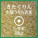 きたくりん 玄米 30Kg 北海道産 1等米 29年産 北海道米