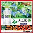 コカ・コーラ いろはす ハスカップ(555ml×24×2箱)【北海道限定商品】【送料無料】