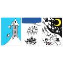 Moomin ムーミン ポストカード3枚セット (たて)【北欧雑貨】