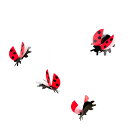 Flensted Mobiles フレンステッド モビール ( Lady Bird レディバード / 30113 )【北欧雑貨】