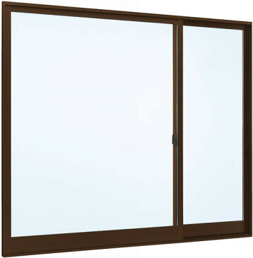 YKKAP窓サッシ 片引き窓 フレミングJ[Low-E複層防犯ガラス] 片袖 半外付型[Low-E透明4mm+合わせ型7mm]:[幅1185mm×高970mm]