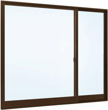 YKKAP窓サッシ 片引き窓 フレミングJ[複層防犯ガラス] 片袖 半外付型[透明3mm+合わせ透明7mm]:[幅1235mm×高970mm]