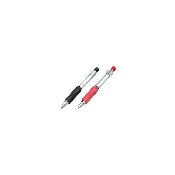 リフォーム用品 道具・工具 大工・作業工具 筆記用具:たくみ ノック式鉛筆Gripen(グリッペン) 赤