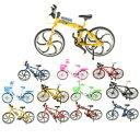 【送料無料】ホビー 模型車 バイク レーシングカー スケールモデルレーシングバイク110 scale alloy bicycle model velodrome racing bike vehicles toy gift foldable