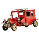 【送料無料】ホビー 模型車 モデルカー ビンテージカーモデルィスデスクvintage metal car model furnishing articles ice desk decoration red l