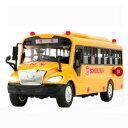 【送料無料】ホビー 模型車 モデルカー サイズバスモデルリカーサウンド2xbig size children school bus toy model inertia car with sound light for m5b7