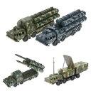 【送料無料】ホビー 模型車 モデルカー ミサイルシステムレーダーモデル172 s300 missile systems radar vehicle assembled military car model toyf nt