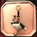 【送料無料】ジュエリー・アクセサリー チャームブレロックジューシークチュールオストリッヒゴールデンオストリッチcharm breloque juicy couture autruche ostrich dore