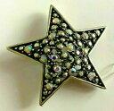 【送料無料】ジュエリー・アクセサリー スターカークスフォリーノイフブローチパインスターパインbroche etoile strass irise kirks folly neuf brooch pin 4,2cm star pin