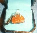 【送料無料】ジュエリー・アクセサリー ジューシークチュールゴールドボウラーバッグチャームブレスレットレアjuicy couture gold bowler bag bracciale charm nuovo raro