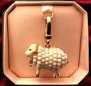 【送料無料】ジュエリー・アクセサリー チャームブレロックジューシークチュールモートンシープドレcharm breloque juicy couture mouton sheep dore