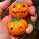 ショッピングハロウィン 【送料無料】ジュエリー・アクセサリー ライトアップパンプキンサウンドハロウィーンイヤリングgrande light up zucca 3d con suono orecchini halloween spooky