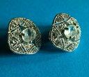 【送料無料】ジュエリー・アクセサリー ブークルドオリユクリップシネスイヤリングboucles doreilles clips signes monet earrings