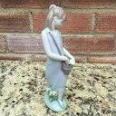【送料無料】キッチン用品・食器・調理器具・陶器 ラッドロフィギュアボックスチューリップガーデンLladro Figurine 7712 ln box Tulip Garden