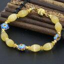 б┌┴ў╬┴╠╡╬┴б█е┤б╝еые╔е╣е┌б╝е╡б╝е╙б╝е║е╓еье╣еье├е╚goldcolor cloisonne spacers beaded strand bracelets 8*12mm