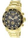 【送料無料】腕時計 ウォッチメンズプロダイバーダイビングゴールドステンレススチールinvicta mens pro diver 19837 gold stainlesssteel diving watch