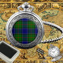 【送料無料】腕時計 ウォッチスコットランドタータンチェックポケットドラモンドウォッチ