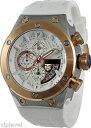 【送料無料】腕時計 ウォッチテクノスポーツローズゴールドトーンベゼルウォッチtechnosport ts8202 white watch with rose gold tone..