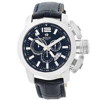 【送料無料】腕時計 ウォッチクロノシリーズメンズクロノグラフスイスmetalch chronometrie chrono series mens chronograph swiss made watch 2153 47mm