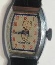 【送料無料】腕時計 ウォッチクラウドブタワーナーブラザーズイングラハムwatch montre des annees 1930, porky pig warner bros mecanique ingraham