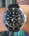 【送料無料】腕時計 ウォッチビンテージテクノスメートルケーススカイダイバーvintage technos 200 meters 844 case 42mm sky diver