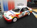 【送料無料】模型車 モデルカー スポーツカーフォードシエラコスワース×ポルトガルラリー#マデイラford sierra cosworth rs 4x4 portugal rally 1993 45 madeira construciv ga 143