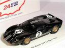 ショッピングマクラーレン 【送料無料】模型車 モデルカー スポーツカー#フォードマクラーレンアモンルマンスパーク2 ford gt40 mk2 shelby mclaren amon winner le mans 1966spark 143 43lm66