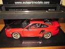【送料無料】模型車 モデルカー スポーツカーポルシェグアテマラautoart porsche 997 gt2 rs red 118