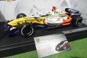 【送料無料】模型車 モデルカー スポーツカールノーフィジケラ#ホットホイールフォーミュラカーミニチュアf1 renault r27 g fisichella 3 118 hot wheels k6631 formula 1 car miniature