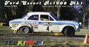 【送料無料】模型車 モデルカー スポーツカーフォードエスコートラリークラークスケールbelkits 007 ford escort rs1600 mk1 winner rac rally 1972 clark scale 124