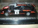 【送料無料】模型車 モデルカー スポーツカーフォードシエラコスワースラリーネットワークford sierra rs cosworth 1000 lakes rally 1987 ixo 143