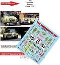 【送料無料】模型車 モデルカー スポーツカーデカールポルシェツールドコルスラリーラリーdecals 143 ref 882 porsche ...