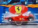 【送料無料】模型車 モデルカー スポーツカーホットホイールフェラーリフォーミュラグランプリレーサーミハエルシューマッハーhot wheels ferrari formula f1 2007 grand prix racer michael schumacher
