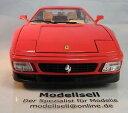【送料無料】模型車 モデルカー スポーツカーフェラーリモデルカースケールferrari 348tb 1989 model car 118 scale bnib by burago cod 3039