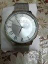 【送料無料】§ oriflamebellissimo orologio uomo in acciaio inossidabile grande quadrante §