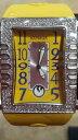 【送料無料】orologio gomma giallo numeri blu donna armada nueva refdanw3h2gb gar 24mesi